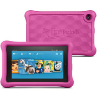 "New Amazon Fire Kids Edition Tablet, 7"" Display, Wi-Fi, 16 GB - With Pink Kid-Proof Case"
