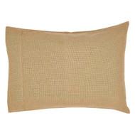 Burlap Natural Pillow Case Set of 2 21x30