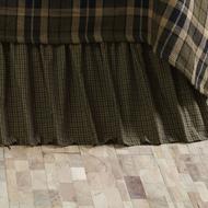 Tea Cabin King Bed Skirt 78x80x16