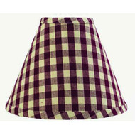 """Heritage House Check 16"""" Washer Barn - Red Nutmeg"""