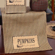 """Pumpkins by the Pound 14"""" x 36"""" Tea Dyed"""