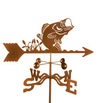 Bass Weathervane