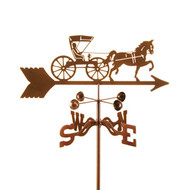 Horse & Buggy Dr Weathervane
