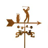 Golfer (Male) Weathervane