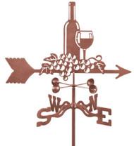 Wine & Grapes Weathervane