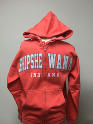 Shipshewana Patch Hoodie Orange