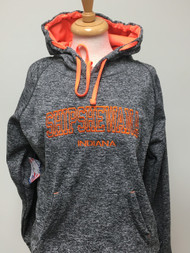 Shipshewana Pullover Charcoal/Orange