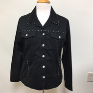 Just My Style Jacket  - Black
