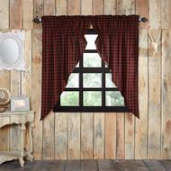 Cumberland Prairie Curtain Lined Set of 2 63x36x18