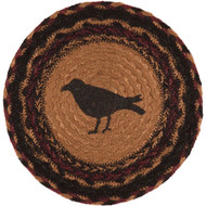 Heritage Farms Crow Jute Trivet 8