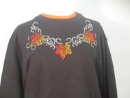Glitz Leaf Sweatshirt