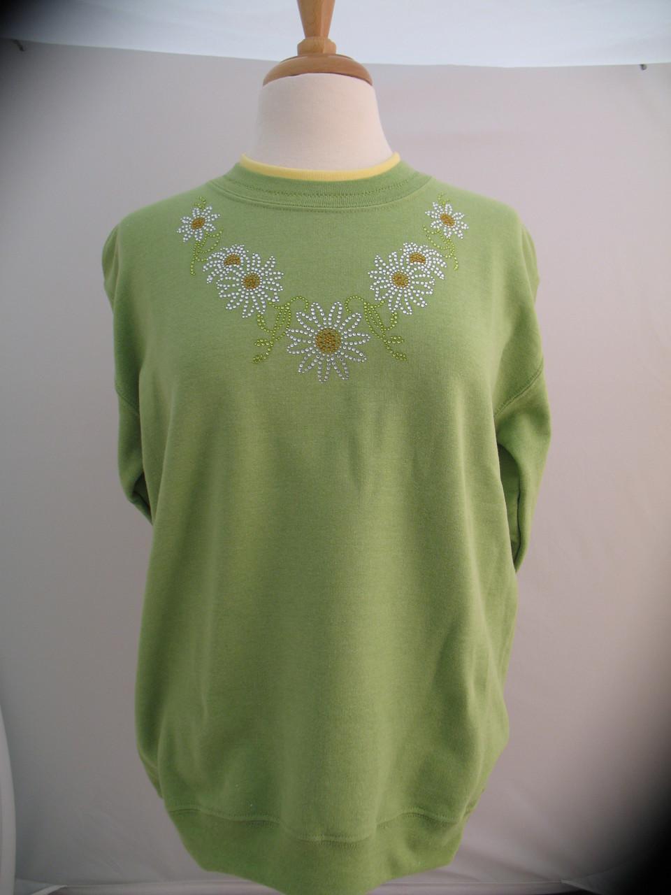 Daisy Stone Sweatshirt Schrock Shoppes