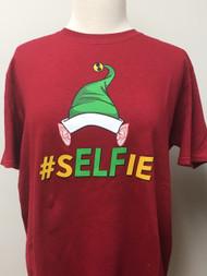 Elfie # Selfie Tee
