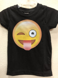 Wink Eye Emoji Youth Tee