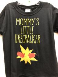 Mommy's Little Firecracker Youth Tee