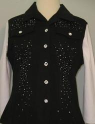 All Over Vest (Black)