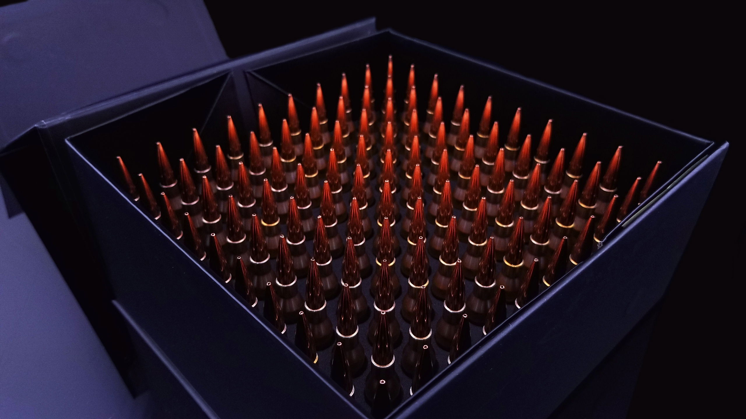 260 Remington 130gr Ammunition Inside Eagle Eye Ammo Box