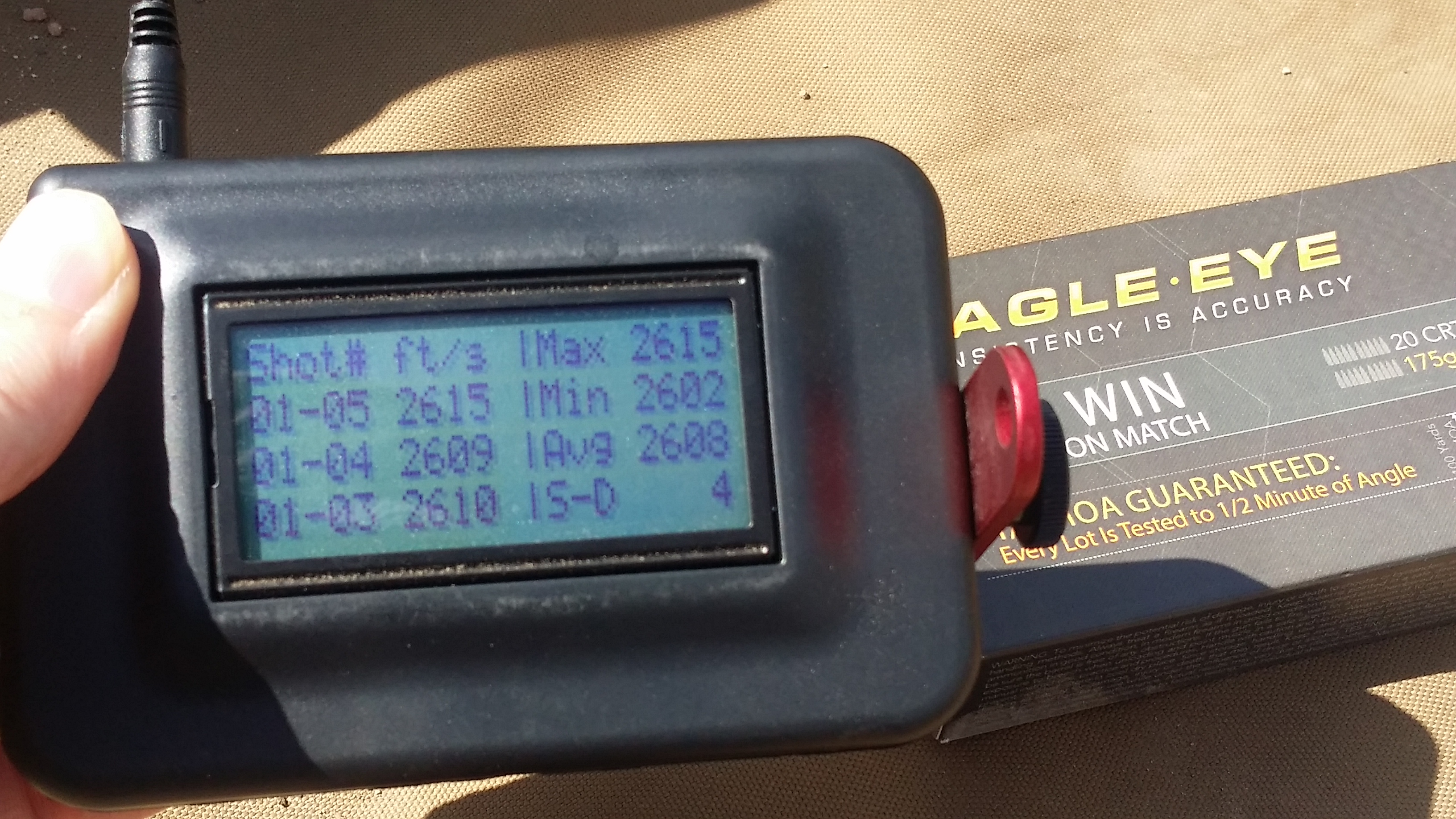 308 Win 175gr 4fps-velocity-sd with Eagle Eye Ammo