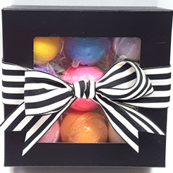Bath Bauble Gift Wrapped 9 Pk Gift Box