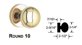 Marks Usa 5 Series Round Knob New Yorker