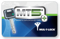 Mul-T-Lock MT5+ Keys Duplicate (Magnetic Key Card Required)