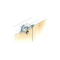 Timberline C186CB Double Door Cam Lock