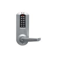 """Kaba E-Plex E5000 Series E5067XSWL-626-41 1-1/4"""" Mortise w/ Deadbolt KIL E-Plex - Schlage Lever Electronic Lock"""