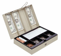 MMF Industries Cash Box With Combination Lock