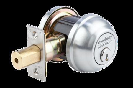 Medeco 14 Series Single Cylinder Deadbolt Grade 2 - ASK Locksmith, Inc.