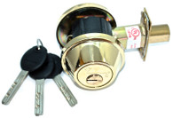 Mul-T-Lock Junior Single Cylinder Deadbolt