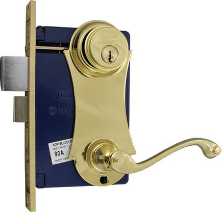 Marks Ornament Unilock Lever Plate Mortise Lockset 9215ac 3