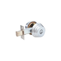 Arrow E62 Double Cylinder Deadlocks (satin chrome)
