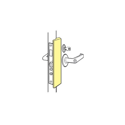 Don-Jo LP-2878-SL Slimline Outswinging Latch Protector