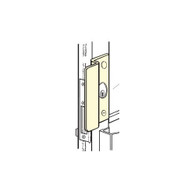 Don-Jo OLP-2651-SL Center Hung Outswinging Aluminum Doors Latch Protector