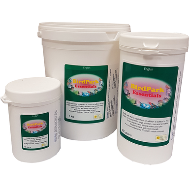 Multi-vitamins and minerals for birds.  Ideal for large breeders, zoos and bird parks.