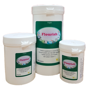 Flourish can be used to support the bird's natural defenses during times of illness.