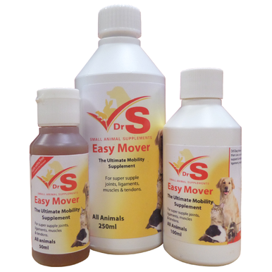 A liquid joint supplement for small animals including cats and dogs.