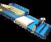 12 inch x 18 inch L-Bar Sealer w/film roller, Round Wire for Cut & Seal