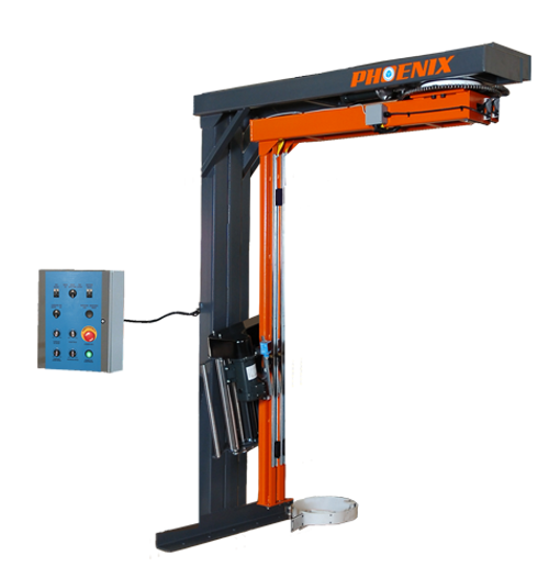 Rotary Arm Stretch Wrapper, Wall Mounted Frame (PRTW-2150)