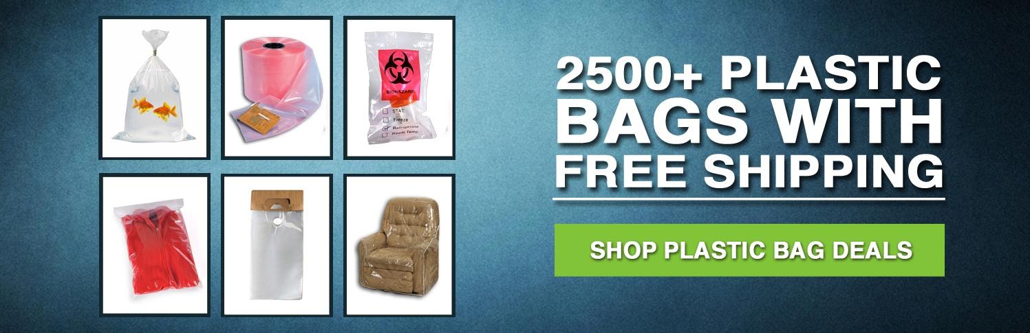 free shipping plastic bags