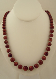 Unique jewelry with goldstone beaded necklace-CJN385