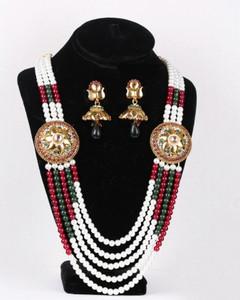indian Designs rajwadi bridal Neckalce set