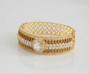 White stone bracelet