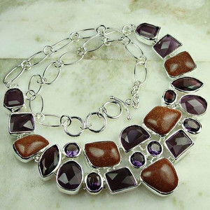 GEM160-925 silver fashion gemstone natural red jasper