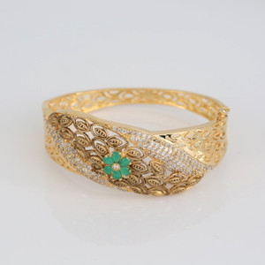 AD Indian Handmade Fashion Jewelry Bangle Bracelet