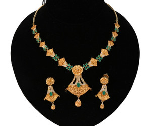 Latest Indian Gold plated jewelry Designs