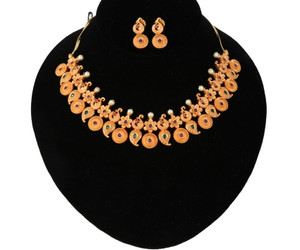 Gold plated Mango haram Jewellery designs