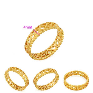 18K gold plated Ladies Jewelry Ring