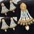 Indian Bollywood imitation Jewellery earrings kundan Stone Polki designer