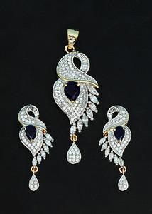 Sapphire Blue fashion jewelry